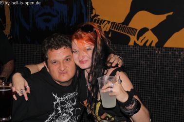 Die Aftershowparty gegen 3:00 Uhr beim  Path of Death 7 in Mainz