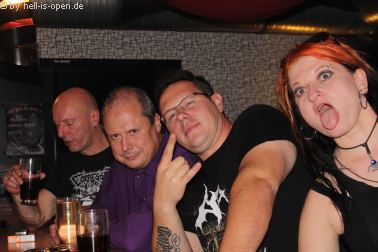 Die Aftershowparty gegen 4:00 Uhr beim  Path of Death 7 in Mainz