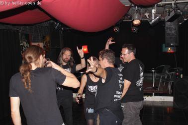 Die Aftershowparty gegen 4:00 Uhr beim  Path of Death 7 in Mainz