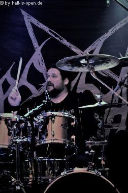 Desaster beim Metal im Woid Drummer Husky
