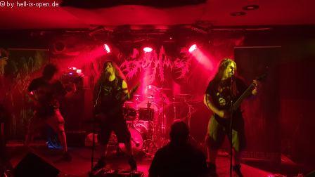 Body Harvest (uk) mit Death Metal aus Bristol