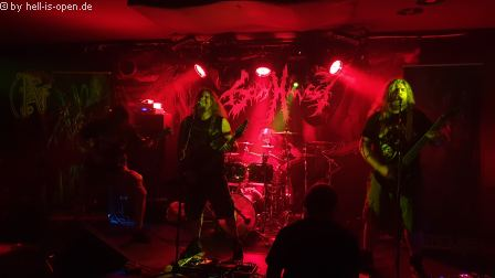 Body Harvest (uk) mit Death Metal aus Bristol