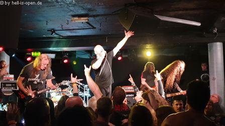 Benediction (UK) mit einer großartigen Death Metal Show