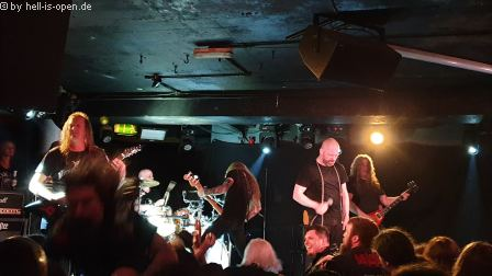 Benediction (UK) mit einer großartigen Death Metal Show