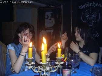 Kerzendinner im Höllenkeller !