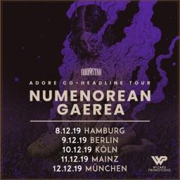 Flyer Numenorean & Gaerea , Mainz 2019