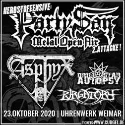 Flyer Party.San Herbstoffensive, 2. Attacke, 2020