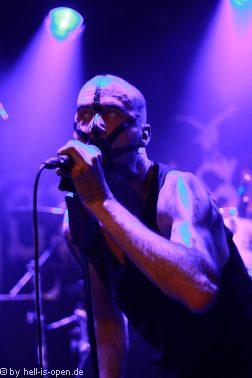 Horresque mit Black-/Death-Metal aus Mainz Sänger M.R.