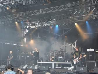 Rotten Sound mit ihrem Grindcore