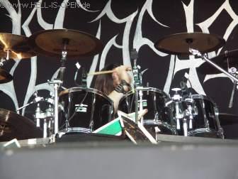Drummer Tormentor von DESASTER