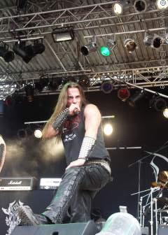 Sänger Satanic von DESASTER