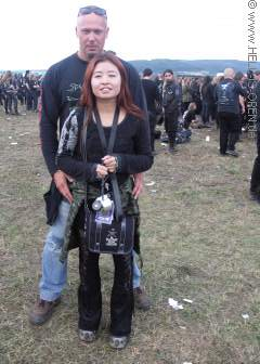 Tibo mit netter Japanerin