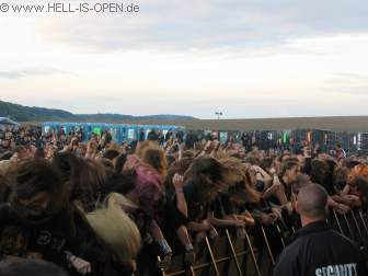 Fans bei Setherial