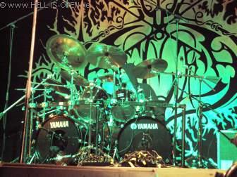 Naglfar<br>Der Drummer wartet auf die Soundanlage