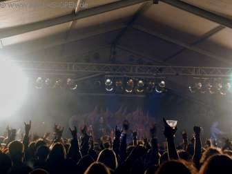 Die letzte Band des Festival TANKARD