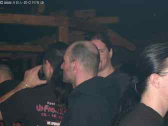 Members der Band DISBELIEF schauen auch mal ganz Privat vorbei