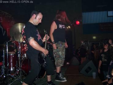 2. Band des Abends Divine Noise Attack mit gelungenem Auftritt !