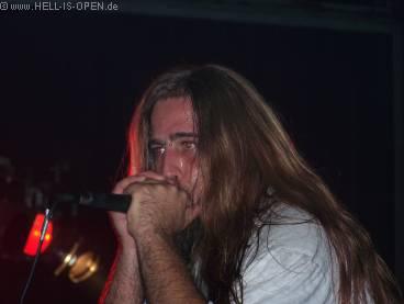 Soul Demise, Sänger Roman Zimmerhackel in Action