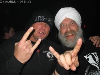 Tibo und sein alter Bangerkumpel Singh