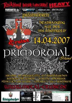 Metal-Cruise 2007 Plakat