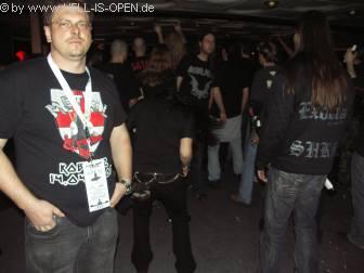 Vorne Links, Max eine der Veranstalter