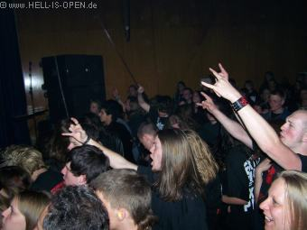LEGION OF THE DAMNED Die Fans sind von den Holländern begeistert