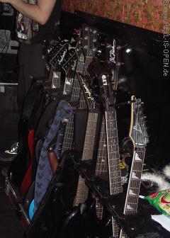 Nette Gitarrensammlung