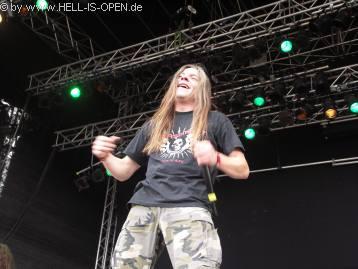Sänger Joost von CLITEATER hatte seine Freude