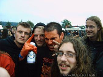 Lugubrious von HAEMORRHAGE mit Fans