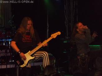 Eddie's Revenge aus Bielefeld, sehr gute Iron Maiden Coverband