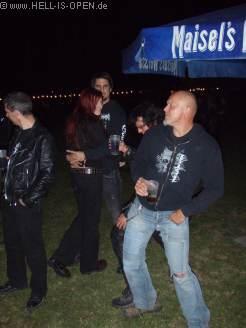 HIO-Members bei Eddie's Revenge