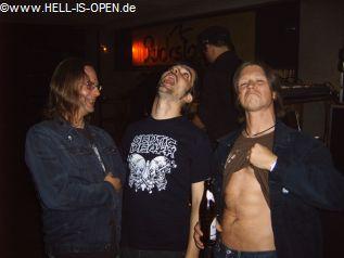 DEAD : Uwe, Christoph und Dany