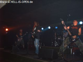 DEATHRONATION Old Skull Death Metal aus Nürnberg