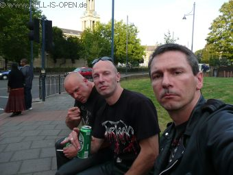 London - Brixton waiting for begin