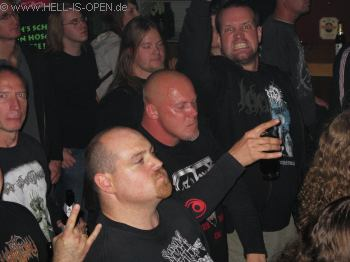LEGION OF THE DAMNED gute Stimmung