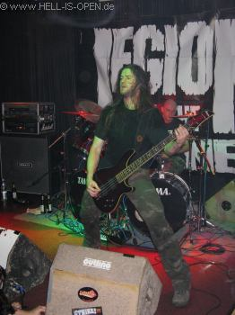LEGION OF THE DAMNED Bassist Harold Gielen