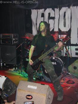 LEGION OF THE DAMNED Bassist Harold Gielen
