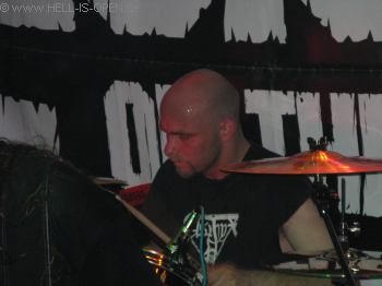 LEGION OF THE DAMNED Drummer Erik Fleuren