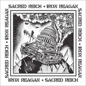 "Review: Sacred Reich / Iron Reagan - Split 7"" :: Genre: Thrash Metal"