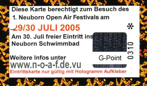 1. Neuborn Open Air Festival