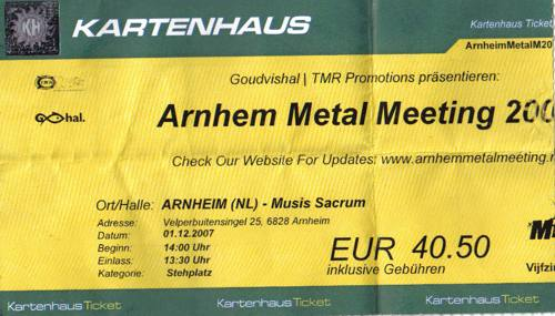 Metal Meeting :: Arnhem/Arnheim 2007